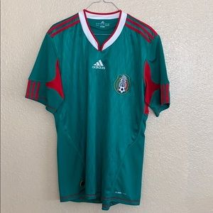 Women's Mexico Home Soccer Jersey Women's Sz M